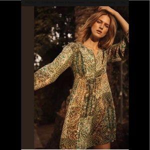 ‼️Anthropologie Amelie Silk Kimono Dress Size 4 ‼️